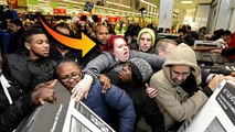 Black Friday Fights In Walmart - Angry Mob Fights Over TV's On Black Friday 2015