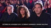 Victoires de la musique 2018 - Johnny Hallyday : Slimane et Florent Pagny lui rendent hommage (vidéo)