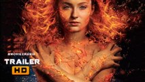 X-MEN_ DARK PHOENIX Teaser Trailer #1 (2018) Jennifer Lawrence, Sophie Turner Marvel Concept