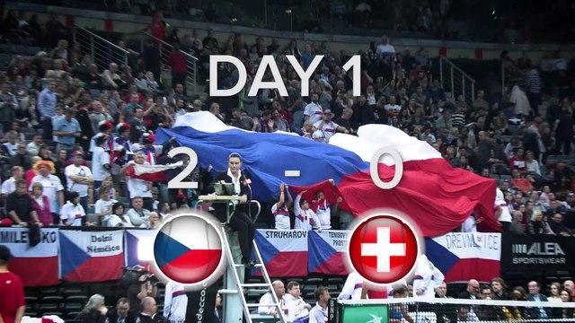 State of Play: Czech Republic 2-0 Switzerland