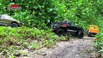 3 trucks enjoying the mud soup SPA pool! Mudding at Butterfly Trail! RC offroad adventures