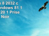 Haier Pad W800 Tablette Tactile 8 2032 cm 16 Go Windows 81 1 port USB 20 1 Prise jack