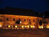 Sibiu / Hermannstadt at night -  Transylvania