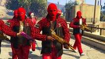 GTA 5 ONLINE -  KSG VS CRIPS AND BLOODS (MUST WATCH)