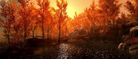 """Skyrim Special Edition Graphics Showcase Cinematic Experience """"Golden Hour"""""""
