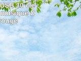 818TEch No36100010038 HiSpeed USB 30 clé 8Go drôle musique DJ 3D rouge