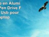 Clé Usb 32GB Clef Usb Porte Clé en Aluminium Usb Pen Drive Flash Drive Usb pour PC Laptop