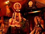 kathakali performance - Fort Cochin, Kerala