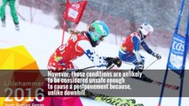 An Olympic Ski Race Is Blown 4 Days Off Course, but Onto a TV-Friendly Path