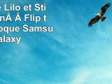 Ohana Signifie FamilleCute Lilo et Stitch CitationFlip téléphone Coque Samsung