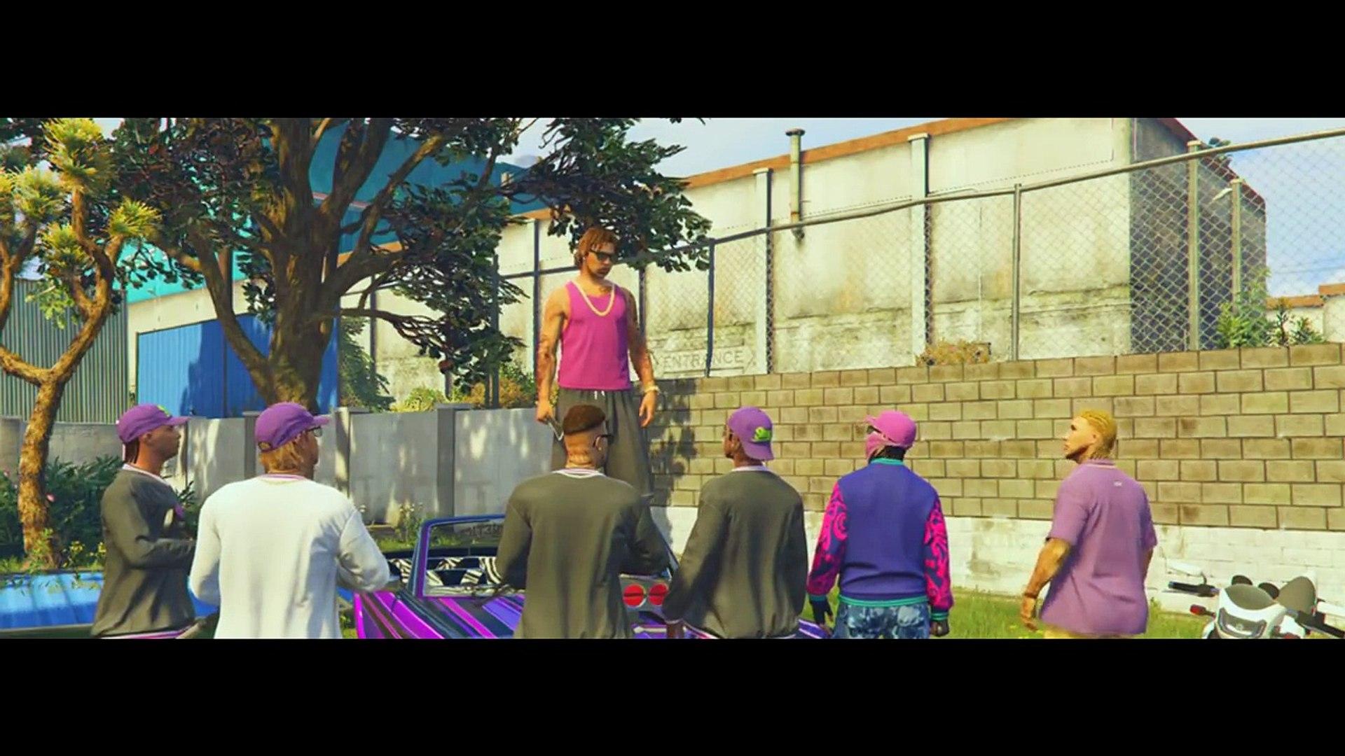 GTA 5 | Grove Street Vs Ballas 3 [HD]