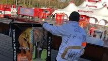 Manifestation contre les cirques avec animaux