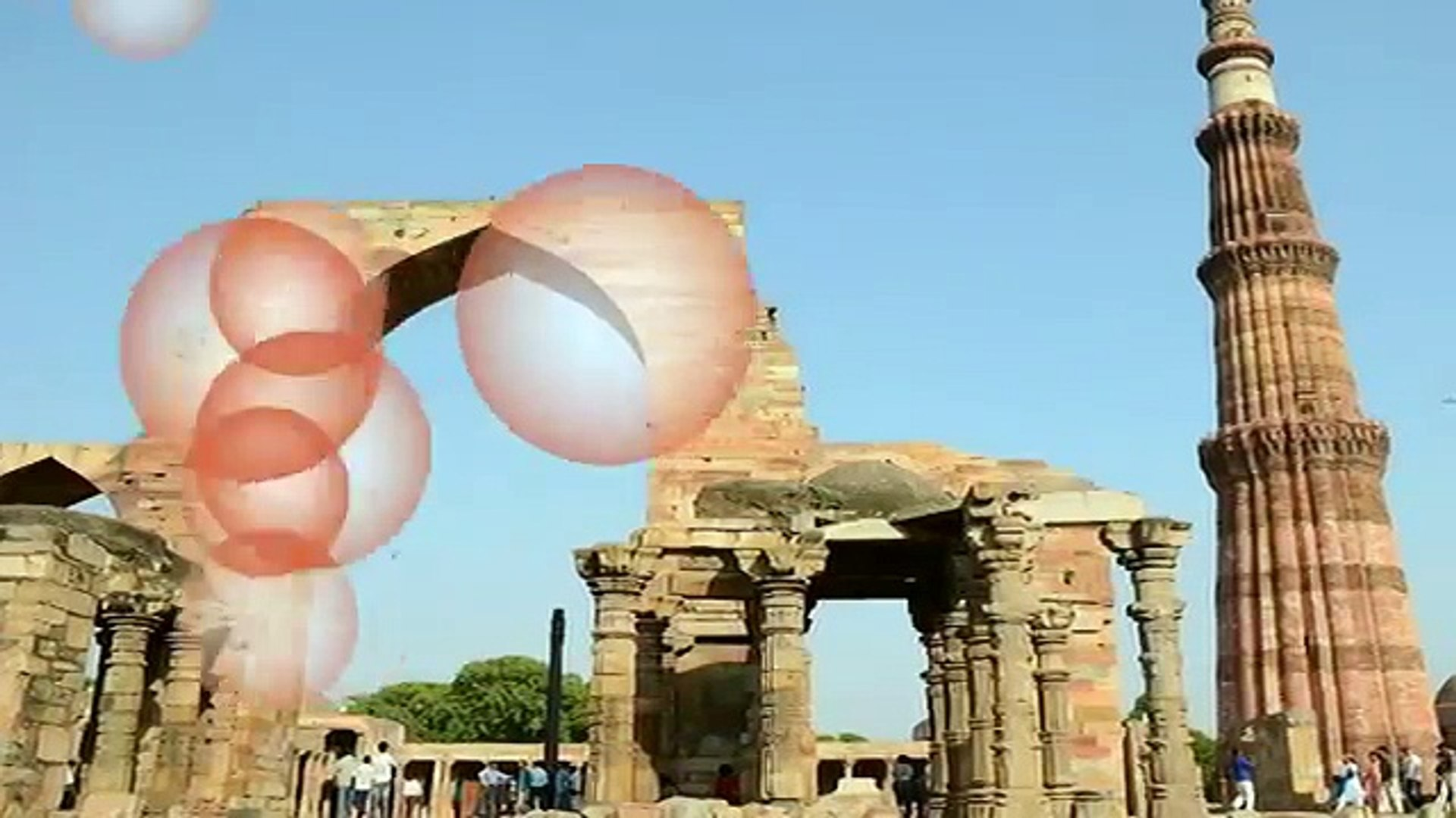 Tourist Attractions in Delhi , Qutb Minar, India