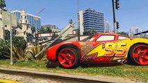 GTA V Mod - LIGHTNING MCQUEEN !! CARS - GTA 5 PC Mod - video dailymotion