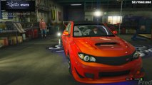 Grand Theft Auto V - Customizing [Subaru Impreza WRX STI] and Racing [GTAV]