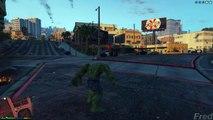 Grand Theft Auto IV - Hulk Vs The abomination