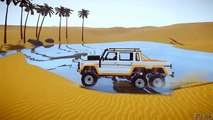 Grand Theft Auto IV - Sand Dunes Island Gameplay With GTA5 Monster Truck [MOD] for GTAIV