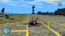 GTA IV Mods - Fighter Jet P 996 MOD for Grand Theft Auto IV Gameplay
