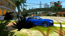 GTA IV San Andreas BETA 3 New CARS Map MOD for GTA 4