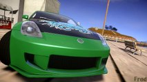 GTA IV San Andreas BETA - Nissan 350Z Underground 2 Style Model: NFS Most Wanted 2012 [MOD]