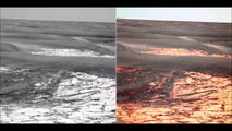 Mars  true color Nasa images and Satellite images  Blue Sky of Mars