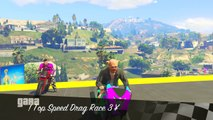 GTA 5 ONLINE  CENTRAL PARK MOTO GP !!!  GARE STUNT N*64 GTA 5 ITA GAMEPLAY  DAJE !!!