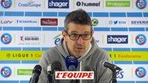 Foot - L1 - Troyes : Garcia «La déception est énorme»
