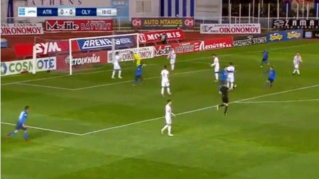 Theodoros Vasilakakis Goal HD - Atromitos 1-0 Olympiakos Piraeus 11.02.2018
