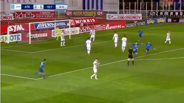 Theodoros Vasilakakis Goal HD - Atromitos 1-0 Olympiakos Pira