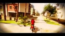 CASCADES EN MOTO ! - GTA 5 ONLINE