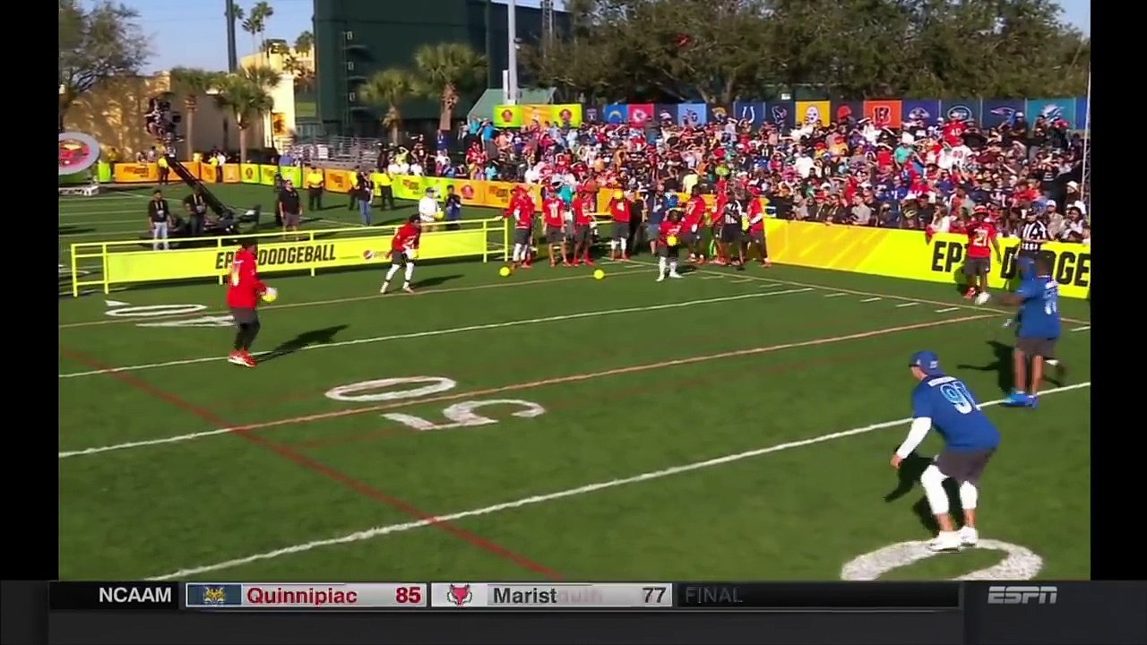 Dodgeball: 2018 Pro Bowl Skills Showdown | NFL Highlights