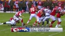 Kansas City Chiefs vs. Denver Broncos | NFL Week 17 Game Preview | NFL Playbook