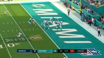 Bad Snap by Denver Leads to a Safety vs. Miami! | Broncos vs. Dolphins | NFL Wk 13