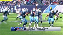 Houston Texans vs. Tennessee Titans | NFL Week 13 Game Preview | NFL Playbook