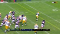 Ty Montgomery Breaks Off 37-Yd TD Run vs. Chicago! | Packers vs. Bears | NFL Wk 10 Highlights