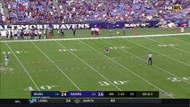 Ravens Go to OT w/ Punt Return TD & One-Handed Catch on Two-Point Try!   Can't-Miss Play   NFL Wk 6