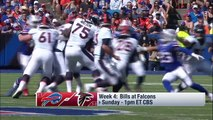 Buffalo Bills vs. Atlanta Falcons | Week 4 Game Preview | NFL Playbook