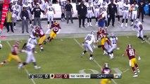 Chris Thompson's TD Catch Set Up by Montae Nicholson's Huge INT! | Raiders vs. Redskins | NFL Wk 3