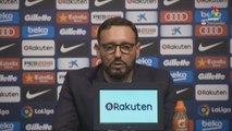 "Bordalás: ""El mérito es del Getafe que ha neutralizado al Barça y a Messi"""