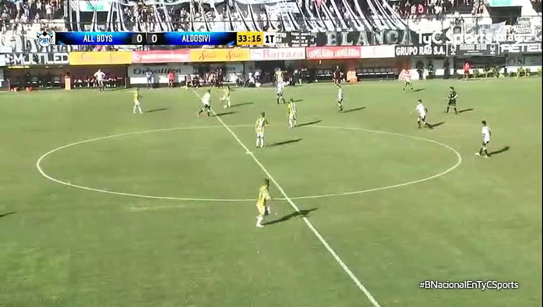 0-1 Fernando Telechea Penalty Goal Argentina  Nacional B - 11.02.2018 All Boys 0-1 CA Aldosivi