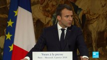 France: President Emmanuel Macron announces war on fake news in election periods