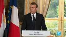 Egyptian President in Paris: Macron refuses to criticize Egypt on human rights