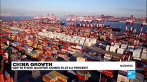 China's third quarter GDP growth meets expectations