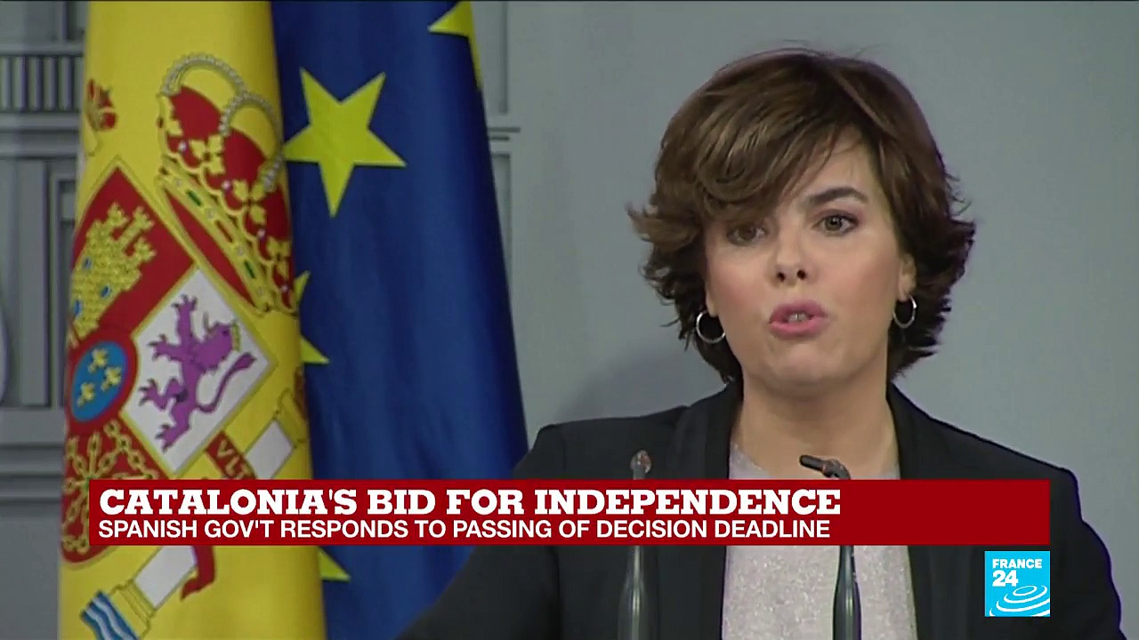 "Spanish Government on Catalonia independence: ""Puigdemont is imposing his views on all his citizens"""