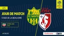 Résumé Nantes 2–2 Lille (LOSC) Buts  /Ligue 1