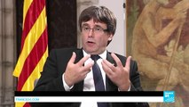"""Catalonia President Puigdemont: """"We are ready to hear any other solution from the Spanish side"""""""