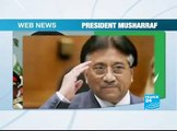 Webnews-President Musharraf-EN-FRANCE24