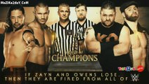 randy orton & shinsuke nakamura vs sami zyan & kevin owens tag team match WWE Clash Of Champions 2017