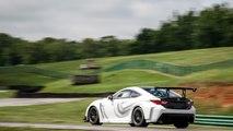 Lexus RC F GT Concept Race Car at Lightning Lap 2016