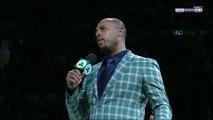NBA : Le discours de Paul Pierce